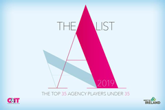 The A List logo