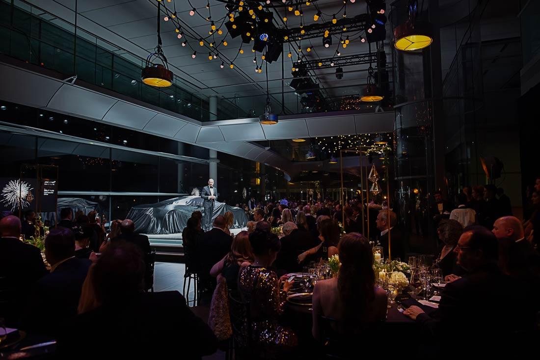Automotive industry gala dinner event management